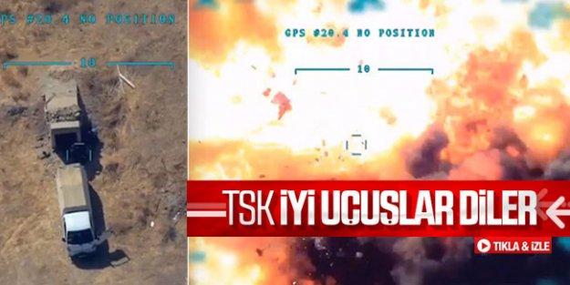 Mühimmat ikmali yapan teröristler havaya uçtu
