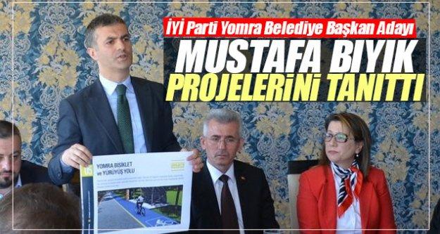 Mustafa Bıyık projelerini tanıttı