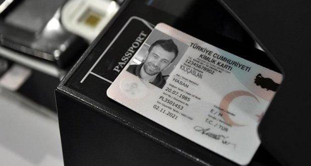 Nüfus cüzdanlarında yeni dönem