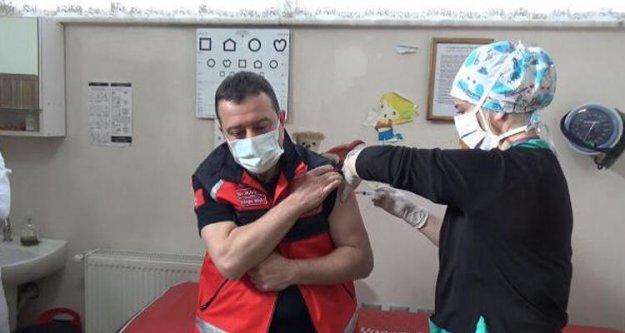 O aşılar Türkiye'ye geldi