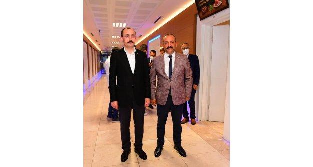 Ömer Hakan Usta, Ticaret Bakanı Mehmet Muş ile görüştü