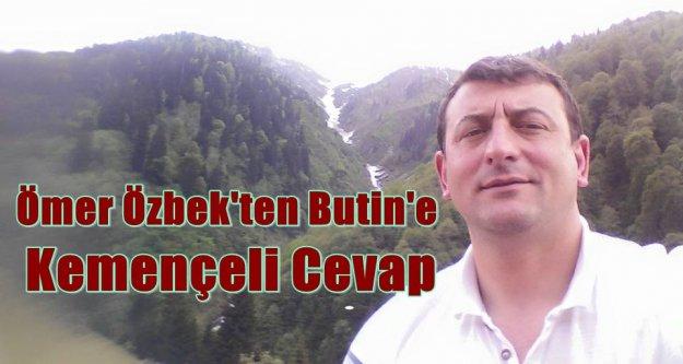 Ömer Özbek'ten Putin'e Kemençeli Cevap