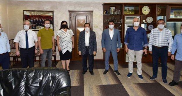 Ortahisar Platformu kurumları ziyaret etti, projelerini anlattı, tam destek aldı.
