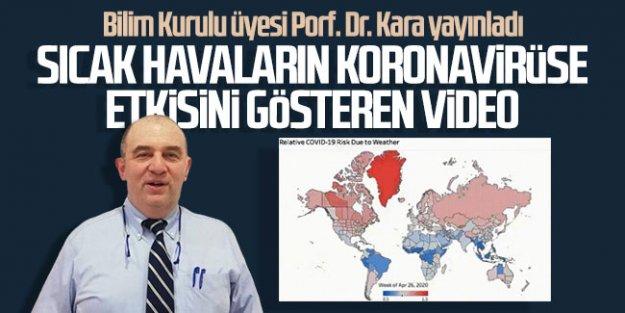 Prof. Dr. Ateş Kara açıkladı: İşte sıcaklıkların virüs üzerindeki etkisi!