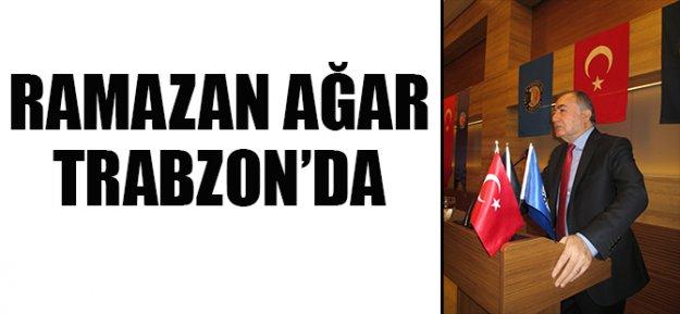 Ramazan Ağar Trabzon'da Taşeron işçiler ile buluştu..