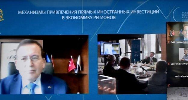 Rusya'daki kongrede Trabzon'un yatırım ve işbirliği fırsatları anlatıldı