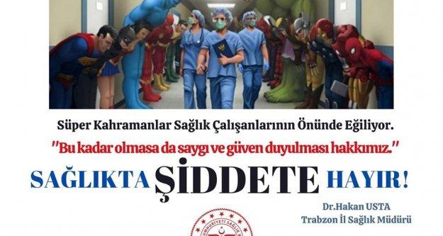 Sağlık çalışanlarına yönelik şiddete hayır!
