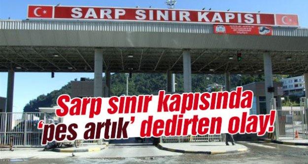Sarp#039;ta 19 kişi yakalandı!