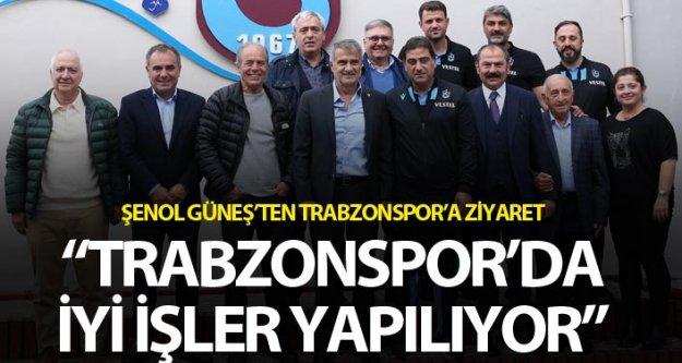 Şenol Güneş, Trabzonspor'u ziyaret etti...