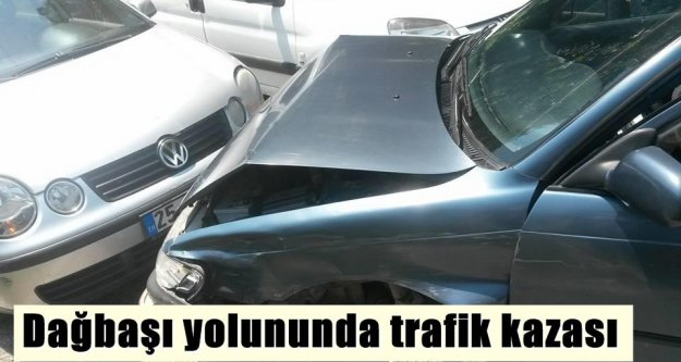 Son dakika: Dağbaşı yolunda trafik kazası