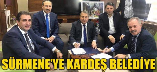 Sürmene'ye Kardeş Belediye