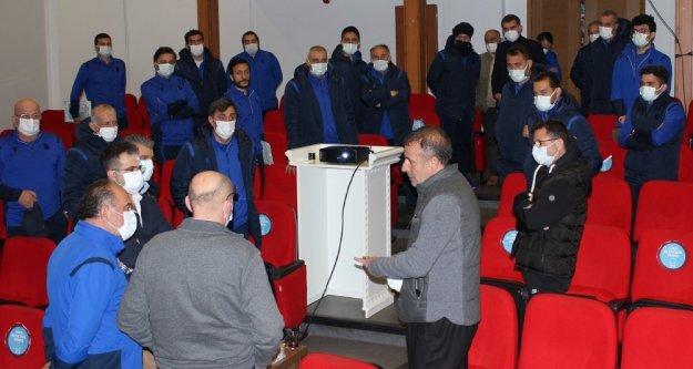 Teknik direktör Abdullah Avcı, Özkan Sümer Futbol Akademisi'ni ziyaret etti.