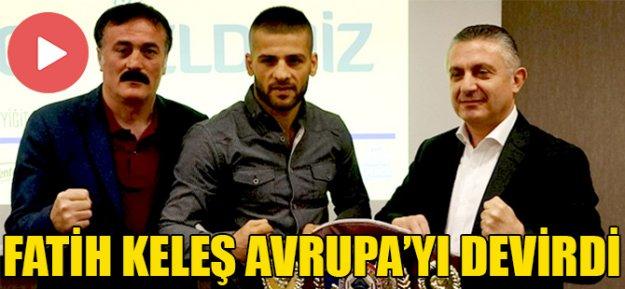 Temel Soyyiğit'den Avrupa Şampiyonu'na büyük destek...