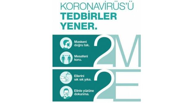 TEST DEĞİL TEDBİRLER SİZİ KORUR