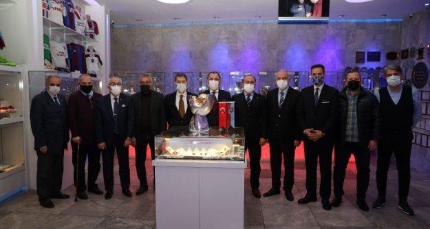 TFF Süper Kupası, Şamil Ekinci Müzesi'ndeki yerini aldı