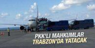 100 PKK'lı mahkum Trabzon'a sevk edildi