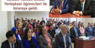 Araklı Belediye Başkanı Recep ÇEBİ, Meslek Yüksek Okulu Öğrencilerini dinledi.