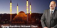 Araklı Belediye Başkanı Recep Çebi Regaib Kandili dolayısıyla mesaj yayınladı.