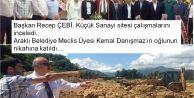 Araklı Belediye Meclis Üyesi Kemal Danışmaz'ın mutlu günü...