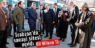Araklı'da 60 Milyon Liraya mal olan sanayi sitesi açıldı...