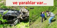 Araklı'da feci kaza…