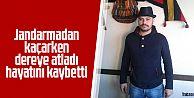 Araklı'da Jandarmadan kaçarken dereye atladı hayatını kaybetti