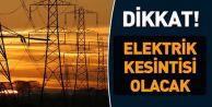 Araklı'da onlarca mahallede elektrikler kesilecek!
