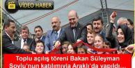 ARAKLI'DA TOPLU AÇILIŞ TÖRENİ YAPILDI...