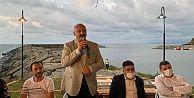 Araklı Kaymakamı Mehmet Nuri Çetin'e veda programı düzenlendi.