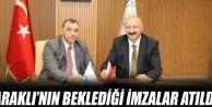 Araklı Turizmine Katkı Sağlayacak Projede İmzalar Atıldı...