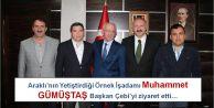 Araklı'nın Yetiştirdiği Örnek İşadamı  Muhammet GÜMÜŞTAŞ Başkan  Çebi'yi ziyaret etti…
