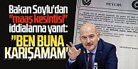 Bakan Soylu'dan ''maaş kesintisi'' iddialarına yanıt: ''Ben buna karışamam''