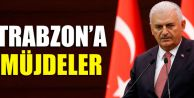 Başbakan Binali Yıldırım'dan Trabzon'a Müjdeler...