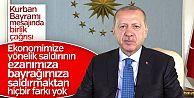 Başkan Erdoğan'ın Kurban Bayramı mesajı