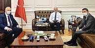 Başkan Recep Çebi Ankara'da önemli ziyaretlerde bulundu.