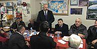 Başkan Recep Çebi, mahalle ziyaretlerini sürdürüyor…