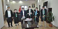 Bedir Çagrı AĞUN Yönetim Kurulu Huzurunda Yemin Ettirilerek Avukatlığa Adımını Attı.