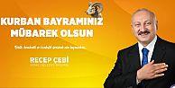 Belediye Başkanı Recep Çebi'nin Kurban Bayramı Mesajı