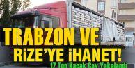 Bitlis'te 17 Ton Kaçak Çay Yakalandı