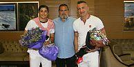Busenaz Sürmeneli olimpiyatlara uğurlandı