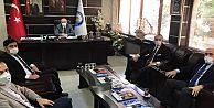 Cumhurbaşkanlığı Yatırım Ofisi yetkilileri Araklı'da...