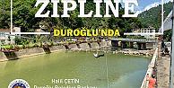 Duroğlu'nda Zipline ve Deniz Bisikleti halkın hizmetinde...