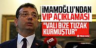 Ekrem İmamoğlu'ndan VIP ve Koç Holding açıklaması