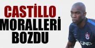 Galatasaray maçında sakatlanan Castillo'nun durumu Trabzonspor'da moralleri bozdu.