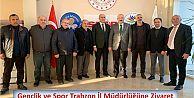 Gençlik ve Spor Trabzon İl Müdürlüğüne Ziyaret
