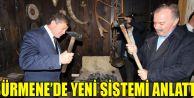Haydar Revi, Sürmene'de Yeni Sistemi Anlattı