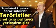 İçişleri Bakanı: Diyarbakır'daki Patlama Terör Saldırısı...