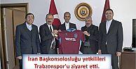 İran Başkonsolosluğu yetkilileri Trabzonspor'u ziyaret etti.