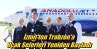 İzmit'ten Trabzon'a Uçak Seferleri Yeniden Başladı