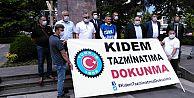 Kıdem tazminatı, Türkiye işçi sınıfının ve TÜRK-İŞ' in kırmızı çizgisidir.